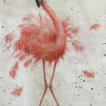 Flamingo Napkins 1
